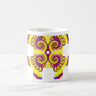 Fire Fractal Coffee Mug