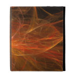 Fire Fractal Flame iPad Cases