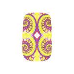 Fire Fractal Minx ® Nail Art