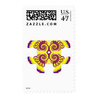 Fire Fractal Stamp