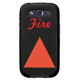 Fire Galaxy SIII Case