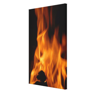 Fire Gallery Wrap Canvas