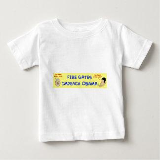 fire gates impeach obama baby T-Shirt