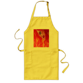 Fire Gir Line of Products. Intense & Stunning. Long Apron