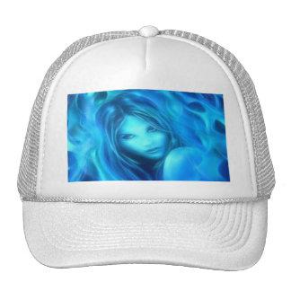 Fire Girl Trucker Hat