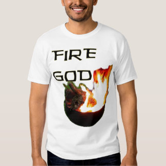Fire God, Master of the BBQ Grill T Shirts