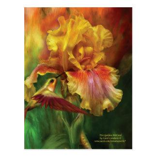 Fire Goddess Art Postcard