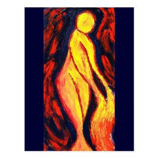 Fire Godess Postcard