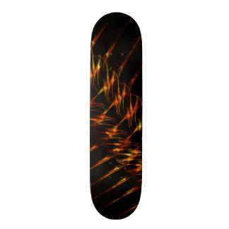 Fire Graphics Custom Skateboard