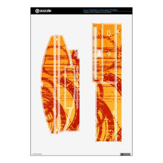 Fire Grunge Gears PS3 Skin