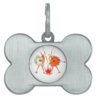 Fire Guardians Pet Name Tag