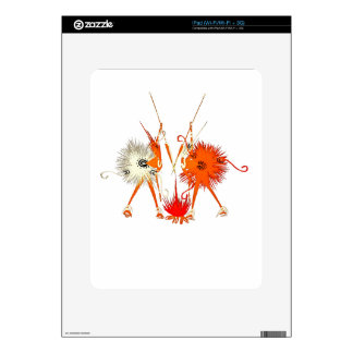 Fire Guardians Skin For The iPad