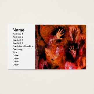 Fire Hands Business Card