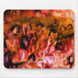 Fire Hands Mouse Pads