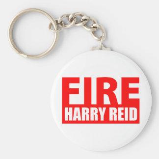 Fire Harry Reid Basic Round Button Keychain