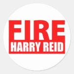 Fire Harry Reid Sticker