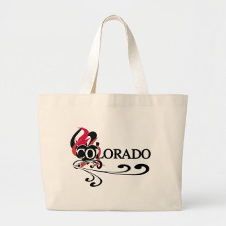 Fire Heart Colorado Tote Bags
