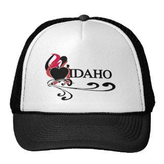 Fire Heart Idaho Trucker Hat