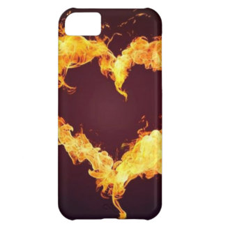 FIRE HEART iPhone 5C COVERS