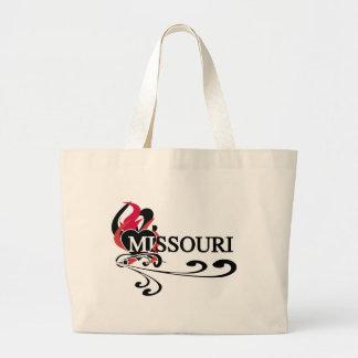 Fire Heart Missouri Canvas Bags