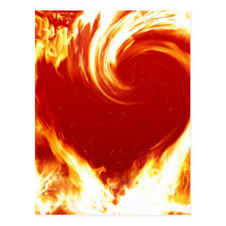 fire-heart postcard
