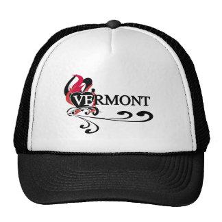 Fire Heart Vermont Trucker Hat