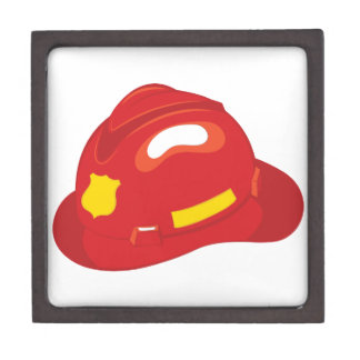 Fire Helmet Jewelry Box