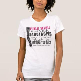 Fire Her Women's Racerback T-Shirt, Eggshell T-Shirt