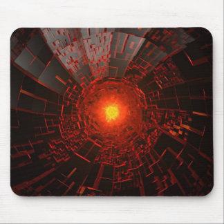 Fire hole mouse pad