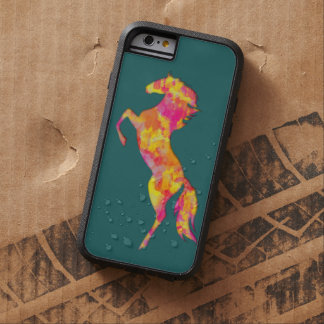 Fire horse silhouette abstract iPhone 6 case