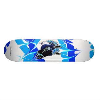 Fire horse skate deck