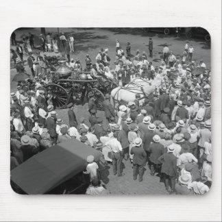 Fire Horses Retirement Party, 1925 Mouse Pads