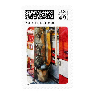 Fire Hose, Bucket and Nozzle Postage