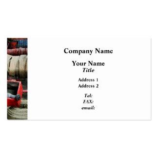 Fire Hose Business Cards