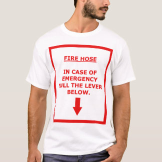 Fire Hose - Pull Lever - Red Box T-Shirt