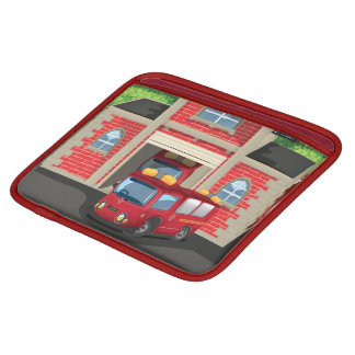 Fire House and Fire Truck iPad Sleeves