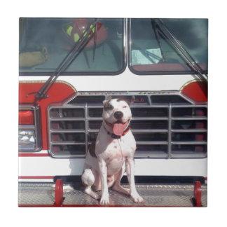 Fire House Dog Tile