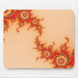Fire Hurricane Mouse Pad