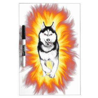 Fire Husky Dry-Erase Whiteboards