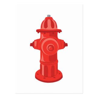 Fire Hydrant 2 Postcard