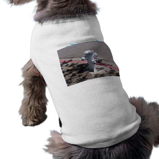 Fire hydrant pet shirt