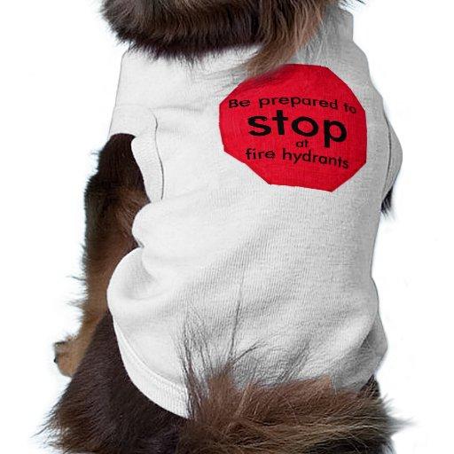 Fire Hydrant Dog Shirt Clothing Tee
