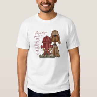 Fire Hydrant Dog T-Shirt