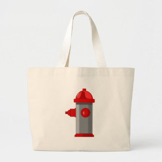 Fire Hydrant Large Tote Bag