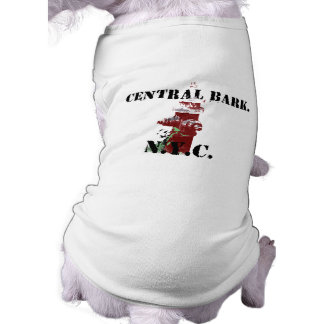 Fire Hydrant With Text. Pet Tee