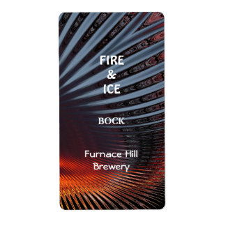 Fire Ice ~ Beer Label