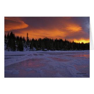 Fire & Ice by Doug Bennett Card
