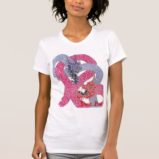 """""""Fire & Ice"""" (Fire)(Ladies) T-shirts"""