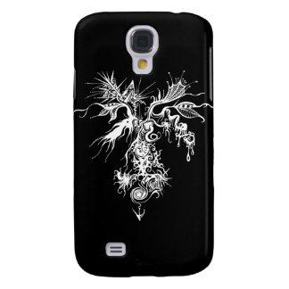 Fire-Ice Oraganometallic Galaxy S4 Case
