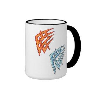 Fire & Ice Tribal Tattoo Mug